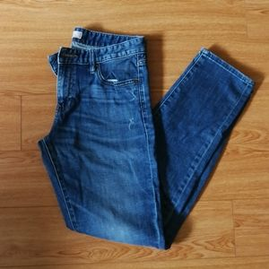 Boyfriend Jeans Uniqlo, medium wash